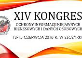 Zapraszamy na XIV Kongres Ochrony Informacji organizowany przez KSOIN