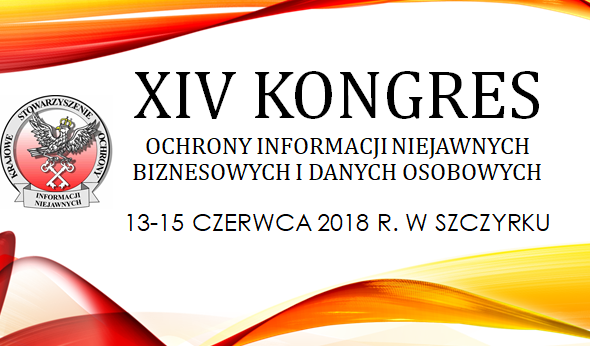 Zapraszamy na XIV Kongres Ochrony Informacji organizowany przez KSOIN