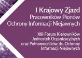 Zapraszamy na grudniowy I Krajowy Zjazd i XIII edycję Forum