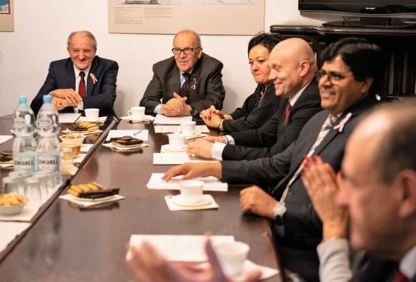 Zebranie Komitetu Bezpieczeństwa Biznesu