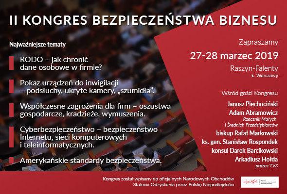 Aktualności Kongresu Bezpieczeństwa Biznesu