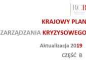 Aktualizacja Krajowego Planu Zarządzania Kryzysowego