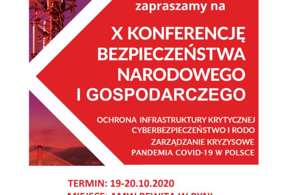 X Konferencja Bezpieczeństwa Narodowego
