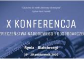 Konferencja Bezpieczeństwa Narodowego i Gospodarczego przeniesiona na marzec 2021r.
